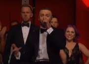 Justin Timberlake has turned party mode on when he opened the Academy Awards with his smash hit single