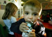 Even toddlers today are experiencing stress. Childcare children are greatly stressed, a study finds.