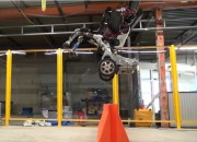 Boston Dynamics released a video showing the wheeled robot Handle performing different tasks.