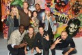The Cast of 'Suicide Squad' Add The Finishing Touches To Graffiti Artist Ryan Meades' Mural In London