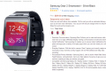 Samsung Gear 2 smartwatch out of stock on Amazon