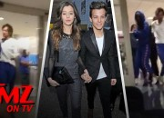 Singer and one of the four popular Britsh boy band, Louis Tomlinson got arrested last Friday late-night for an incident between himself and a photographer defending his girlfriend at Los Angeles International Airport (LAX).