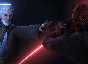 Star Wars Rebels features a rematch between Darth Maul and Obi-Wan Kenobi! Lucasfilm and Disney XD have just released a teaser for next weekend's new episode and it looks like it's going to be a pretty epic chapter.
