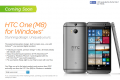 AT&T HTC One M8 for Windows coming soon (pre-registration page)