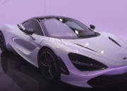 McLaren's latest offering, the 720S, takes engineering functionality to create seemingly simple yet ingenious solutions to the obstacles  of developing a seriously capable supercar. Its design is truly swoon worthy with its incredibly geeky details.