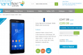 Sony Xperia Z3 Compact pre-order page on Handtec UK