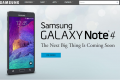Samsung Galaxy Note 4 now up for pre-order