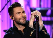 Adam Levine celebrates his birthday filled with love from people around him as he reacts on how it is working with John Legend on
