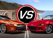 The New York Auto Show anchors the end of a long and torrid show season. Two of the greatest Japanese road beasts, Mazda MX-5 Miata and Nissan GT-R battle it out to determine which one reigns supreme.