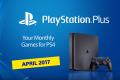 PlayStation Plus Games Lineup For April 2017 Announced