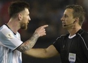 Leo Messi, who is generally considered as one of the most well behaved players on the field, was banned for four international matches after he allegedly abused the referee.