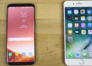 Both Samsung Galaxy S8 and iPhone 7 have pretty much good performances and features. However, which phone do you think would win in a speed test?