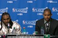 Al Horford & Jae Crowder Postgame News Conference.