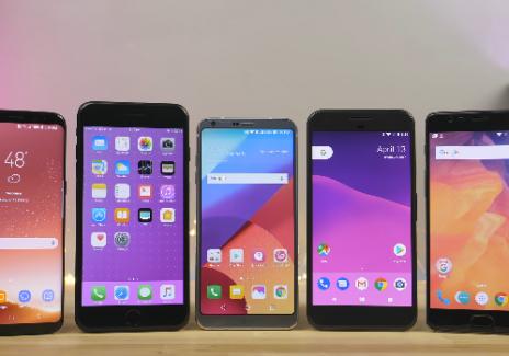 Speed Test: Galaxy S8 vs 7 Plus vs LG G6 vs Pixel vs 3T