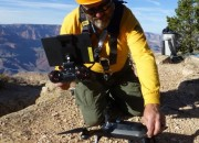 Grand Canyon National Park dispatched its fleet of search and rescue drones to help locate two missing hikers in what is their first official mission.