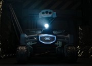 Audi has confirmed that its latest moon rover, the Lunar Quattro will be heading to space in the new film