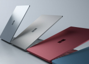 The new Microsoft Surface Laptop runs the Windows 10 S, the latest operating system which is made especially for teachers and students. The laptop comes in four colors - platinum, burgundy, cobalt blue, and gold.