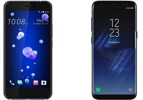 HTC U11 vs Samsung Galaxy S8: Comparison Of Newly Released Flagships