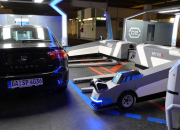 The automated valet service has the ability to stack up to five vehicles on a single line which, the start-up firm Stanley Robotics argues, dramatically improves the efficiency of car parking.