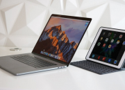 Apple now offers an iPad that's close to a Mac. The MacBook has a 16:10 aspect ratio, 12-inch, 2304x1440 Retina display at 226ppi. While iPad Pro comes with two screen size options. Both have a 4:3 aspect ratio.