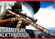 Ubisoft just released the first gameplay trailer for the upcoming game Far Cry 5. Check it out!