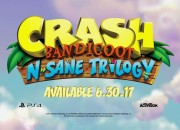 Crash, the funny marsupial is coming. He is again the hero of the upcoming Crash Bandicoot N. Sane Trilogy video game which is hitting the streets next Friday.