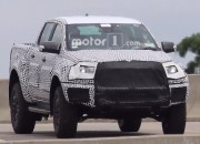 A prototype of a mid-size pickup was photographed driving near the Ford headquarters in Michigan and it could be the 2020 Ford Ranger Raptor.