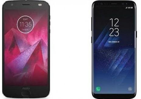 Moto Z2 Force vs. Samsung Galaxy S8 Plus