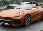 BMW unveiled the Concept Z4 during the Monterey Car Week festivities in California.