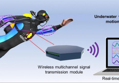 Underwater Wireless Multi-Site Human Motion Monitoring System Based on BSNG (IMAGE)