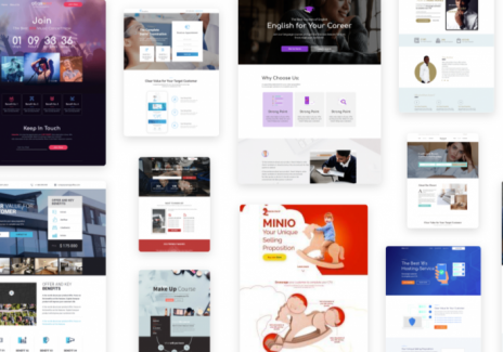 How to make a good landing page