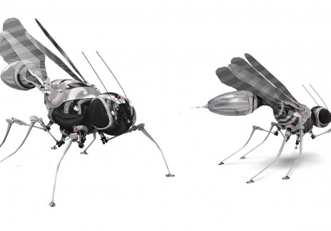 CONCEPT DESIGN OF FLY-ROBOTS