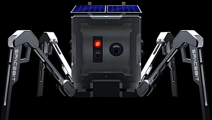 SpaceBit's Walking Spider Robot