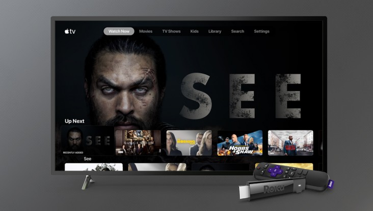 Apple TV App Now Available on Roku; Apple TV+ Following Suit