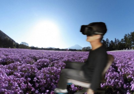 image of virtual walking