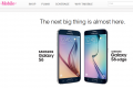 T-Mobile Samsung Galaxy S6, Galaxy S6 Edge pre-pregistration page