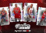NBA 2K20's card packs can be tricky but if you want to find a way to get Galaxy Opal Michael Jordan, Galaxy Opal Magic Johnson, and GO Derrick Rose all together, here's how!