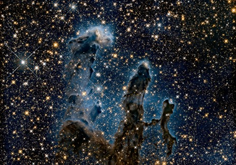 Pillars of Creation as captured by Hubble Telecope