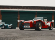 If you're a fan of old vintage cars, why not take it a step further and get yourself a 70's themed Caterham Super Seven 1600 that was modelled over the 50's?