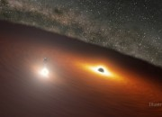 Black Holes called 'OJ 287' dancing in space is a marvelous sight, and it was caught by NASA's Spitzer telescope! Watch the video here!