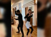 [VIDEO] Die Hard star Bruce Willis and ex-wife Demi Moore show off their dance moves along with their daughters in this uplifting video