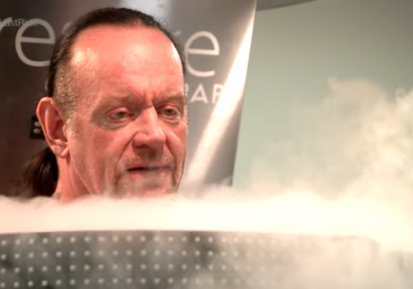[Facebook Video] WWE's Undertaker Shows How He Literally Freezes Himself at -240 Degrees as Part of His Preparation