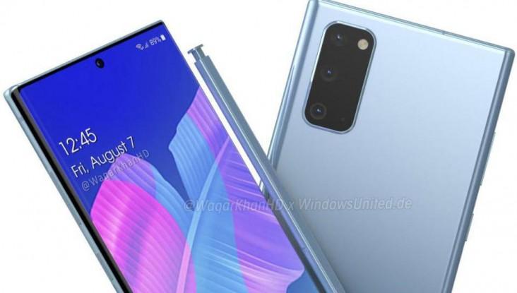 Samsung Galaxy Note 20 concept