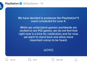 Sony decides to delay its PS5 event due to the ongoing BlackLivesMatter and George Floyd protests.