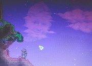 A Reddit user was playing Terraria in the middle of the night, when he saw a face in the clouds and was shocked. Redditors were quick to share their theories who they think owns the face.