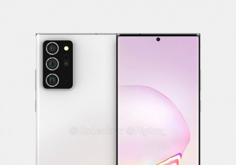 Galaxy Note 20 Plus render