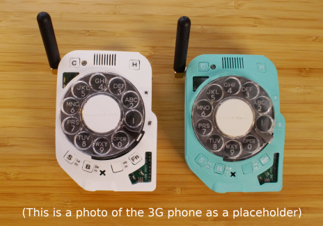 Two Rotary Cellphones 1st Edition