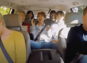24 hours after renowned Korean boy band BTS has donated around $1 million to support the Black Lives Matter movement,  James Corden, the host of the Late Late Night Show aired an unseen clip of Carpool Karaoke with him and BTS jamming along to the Baby Shark x Lil Jon remix.