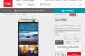 Verizon HTC One M9 pre-order page