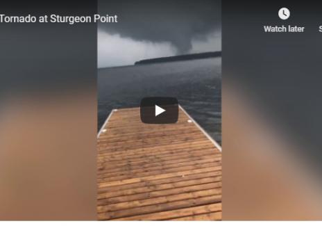 Tornado at Sturgeon Lake